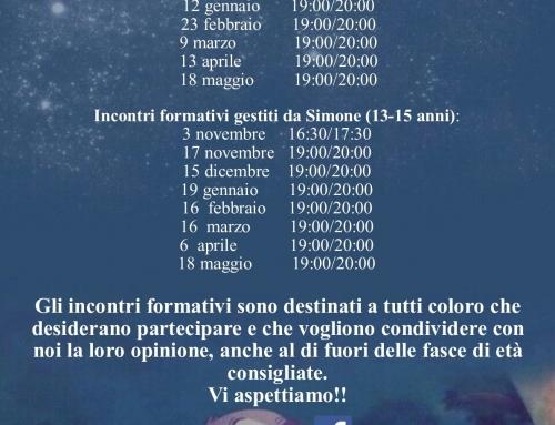 Incontri Formativi Oratorio Pier Giorgio Frassati