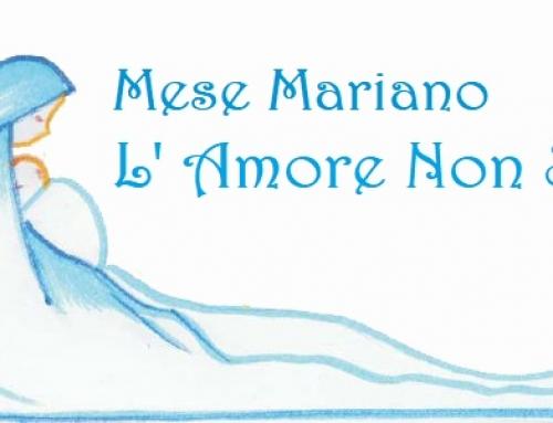 Maggio, Mese dedicato alla Beata Vergine Maria