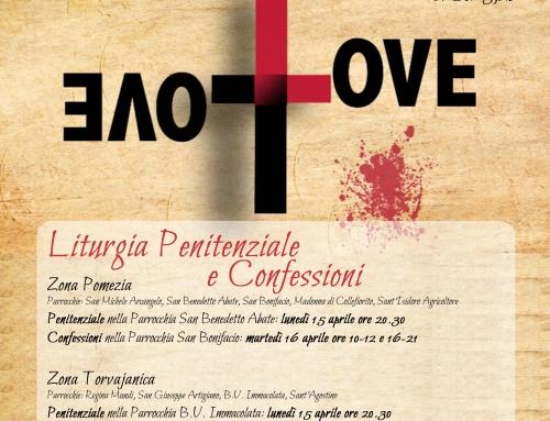 Liturgia Penitenziale e Confessioni, Parrocchia SANTA CATERINA DA SIENA