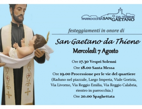 Festeggiamenti in onore di San Gaetano da Thiene