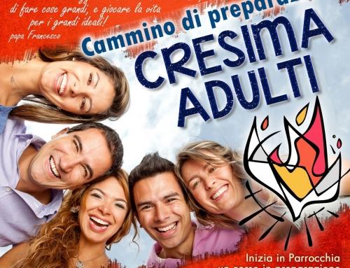 Aperte iscrizioni – PerCorso Crismale Adulti