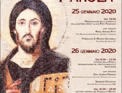 Domenica della Parola – Diocesi di Albano
