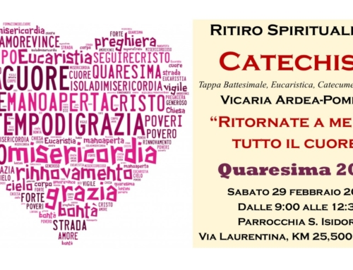 Ritiro Spirituale per i Catechisti