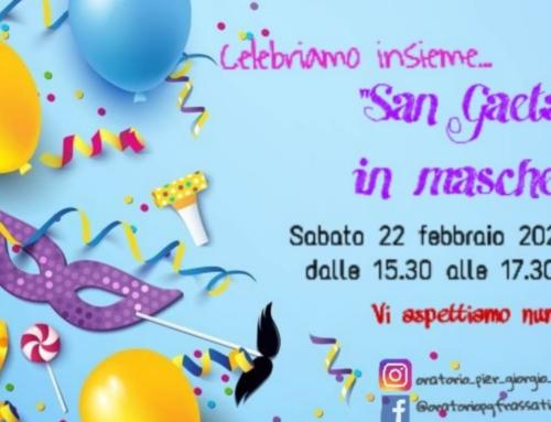San Gaetano in Maschera – Carnevale in Oratorio