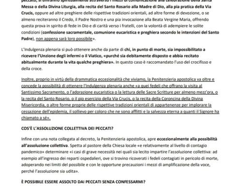 Papa Francesco, Benedizione Urbi et Orbi e indulgenza plenaria