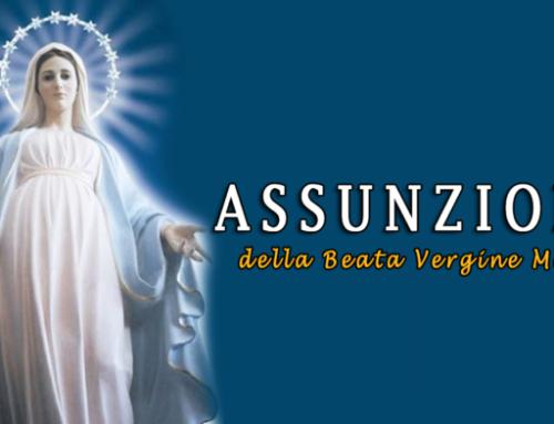 Santa Messa, meditazione domenicale Assunzione della Beata Vergine Maria